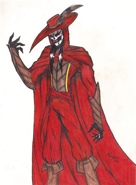 death is a red the red death by top hat wolf on