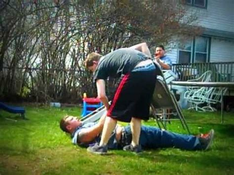 extreme backyard wrestling extreme backyard wrestling falls count anywhere match 4