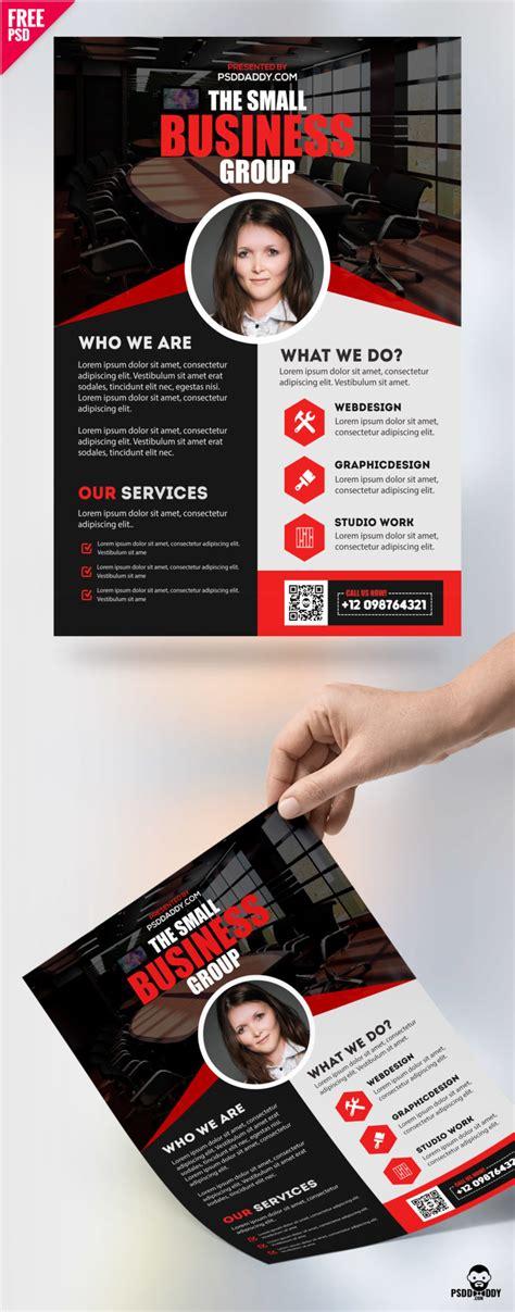 Free Professional Business Flyer Psd Freebie Psddaddy Com Photoshop Flyer Templates Business