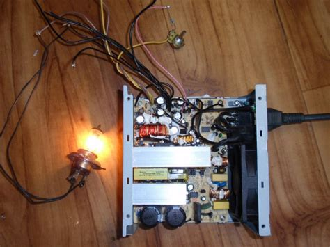 Modification Atx Power Supply by How To Modify An At Atx Computer Power Supply To A 3 15v