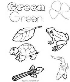 Green Coloring Pages free coloring pages of green color