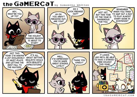 what are comics comics the gamercat
