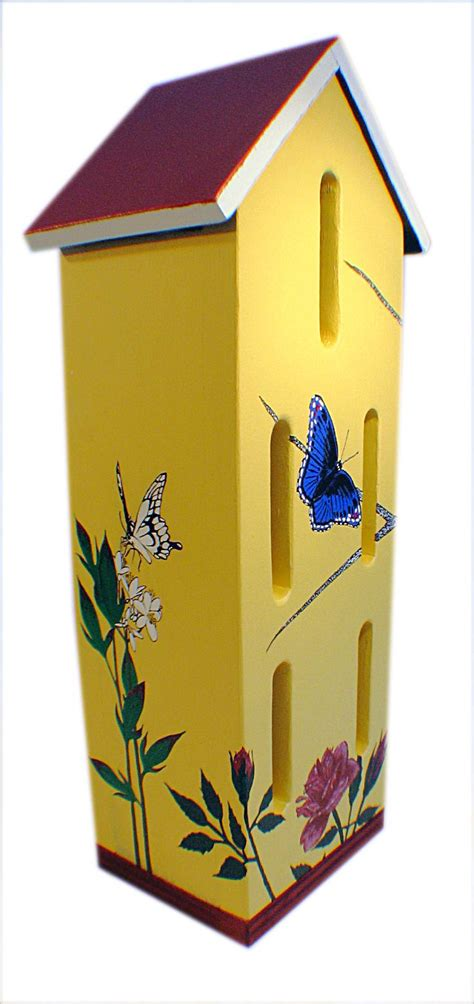build a butterfly house butterfly house plans woodworking projects plans