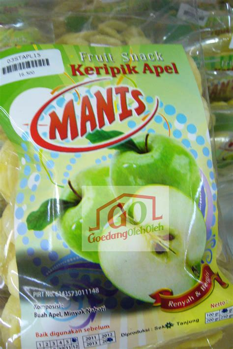 Krupuk Buah Jambu keripik apel manis