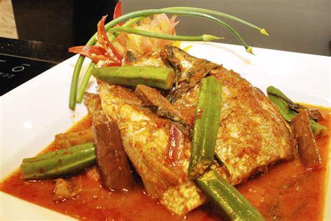 ikan asam pedas kepala ikan merah asam pedas melaka malaccan spicy fish