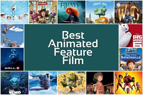 Best Animated Film Oscar History | academy award for best animated feature film winners list