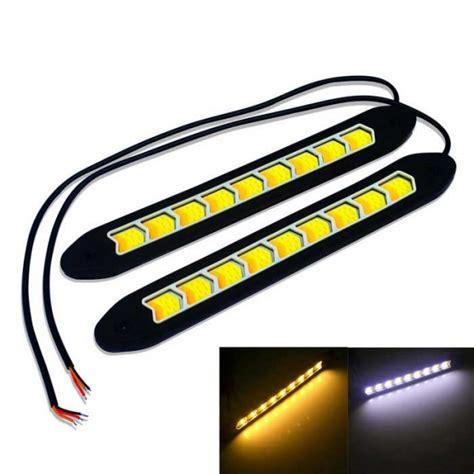 led daytime running light bulbs automotive led bulbs car daytime running lights jiawen