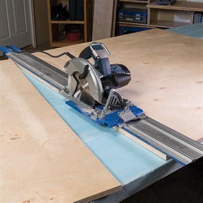 accu cut circular saw guide track system