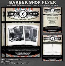 shop templates barber flyer template ideas studio design gallery