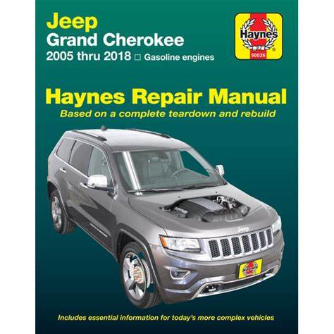 Haynes Manuals 50026 For 05 14 Jeep Grand Cherokee Wk