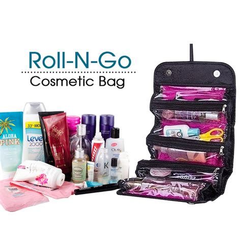 Roll And Go Bag Cosmetik roll n go cosmetic bag