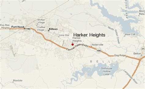 where is harker heights texas on a map harker heights location guide