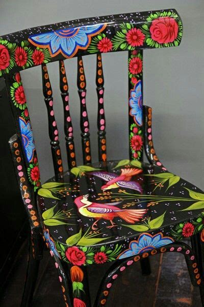 painted chair ideas paint and decoupage furniture a collection of home decor