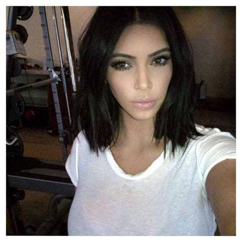 pinterrst kim kardshian bob haircut 20 ideas of kim kardashian short haircuts