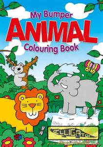 jumbo colouring books alligator books