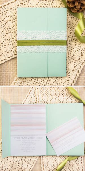 mint wedding invitation kits top 7 wedding invitation trends for 2015