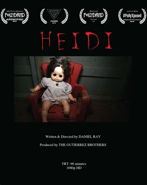 haunted killer doll haunted doll horror heidi 2014 trailer poster