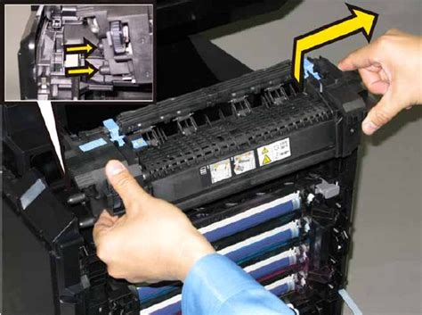 resetting dell printer how to replace replacing the fuser on a dell 2130cn