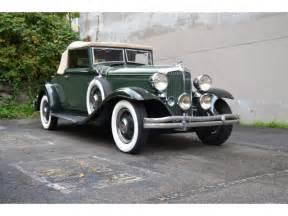 1932 Chrysler Roadster 1932 Chrysler Cd Eight Roadster A Lovely Restoration