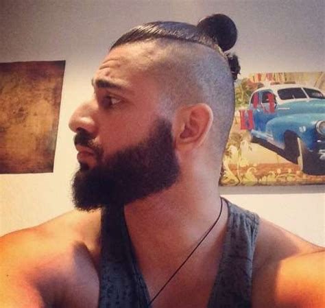 how to grow a manbun with shaved sides how to get a man bun hairstyle guide man bun hairstyle