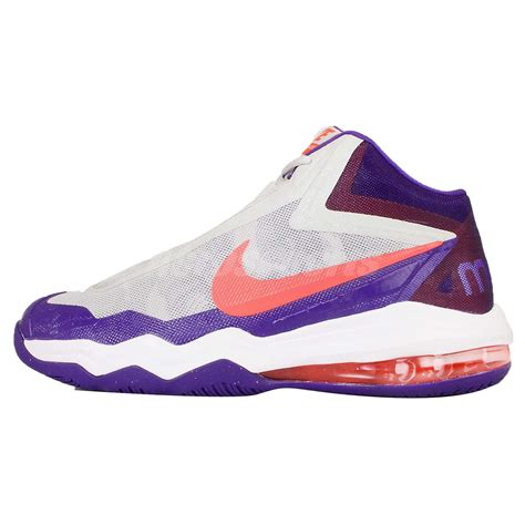 anthony davis basketball shoes nike air max audacity anthony davis purple mens basketball
