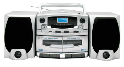 mini stereo system with cassette player supersonic shelf stereo system with cd cassette player