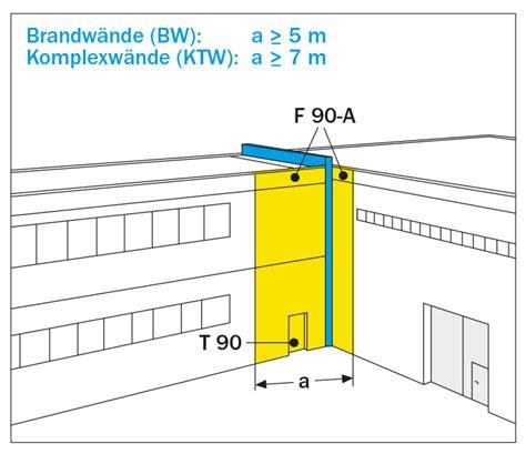 Abstand Fenster Brandwand by Brandschutz
