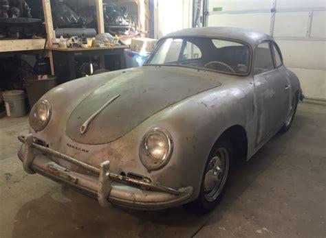 Project Porsche For Sale by 1957 Porsche 356 A Coupe Project Classic Porsche 356