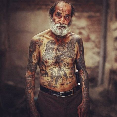 old man tattoos cool grandpas with badass tattoos inked all guff