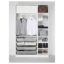 pax wardrobe white tanem vikedal 150x38x236 cm ikea