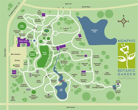 botanical gardens map garden ftempo