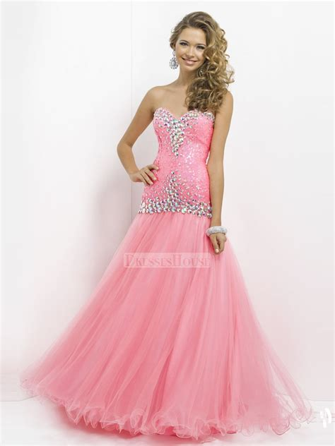 John Lewis Sale Duvet Covers Beautiful Pink Sweetheart Jewels Ruffled Tulle Prom Dress