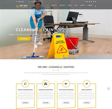 themes of the clean house 15 best of cleaning painting plumbing services