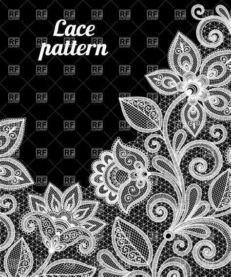 lace pattern color floral lace pattern in white color 28851 backgrounds