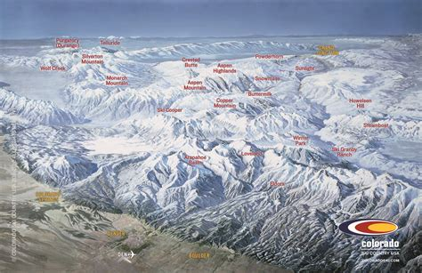 skiing usa map an autumn glimpse of a colorado ski resort vail