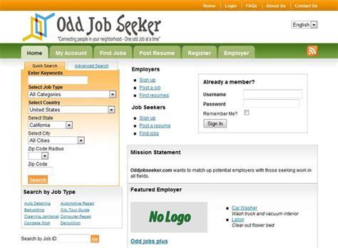 odd jobs layout tool instructions odd job seeker