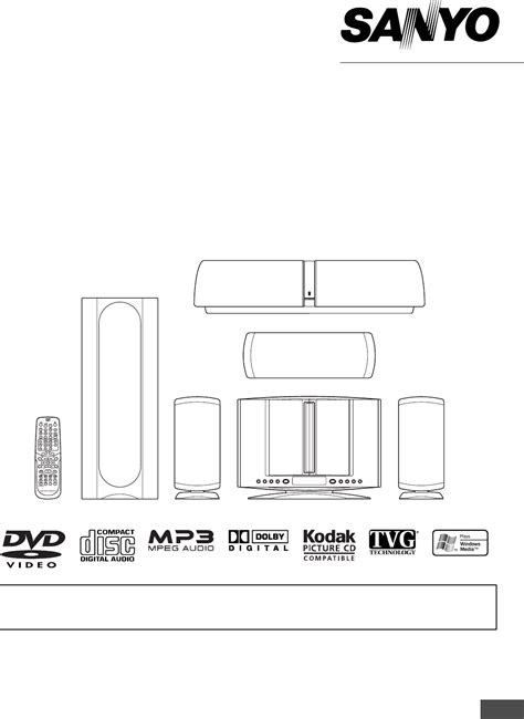 sanyo home theater system dwm 4500 user guide