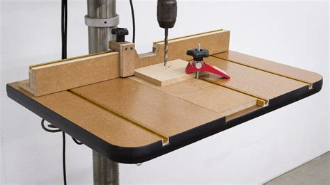 build a drill press table youtube