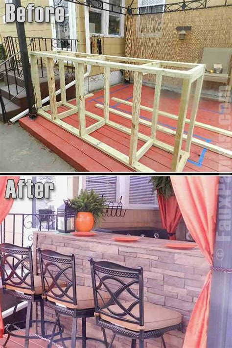 Diy Kitchen Bar by Diy Outdoor Bar Kitchen Area Outdoor Living Play