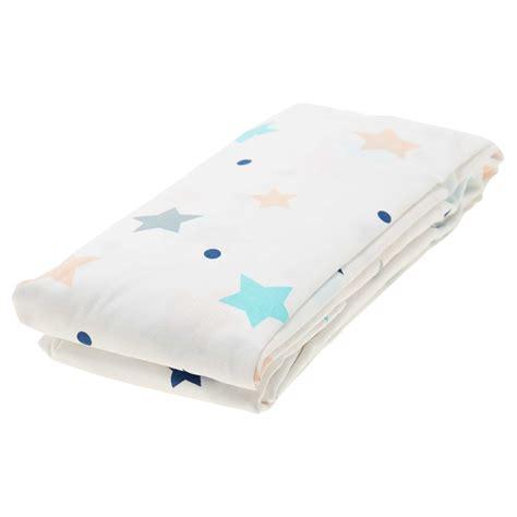 drap housse imprim 233 etoiles linge de lit blanc kiabi