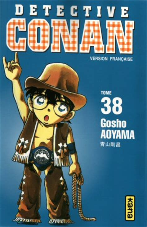 Detektif Conan 38 couvertures d 233 tective conan vol 38 news
