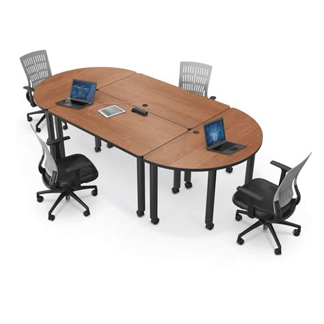 Modular Meeting Tables Modular Conference Tables Mooreco Inc Best Rite Balt Modular Conference Table