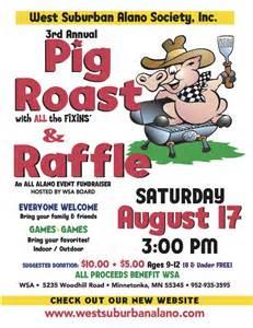 west suburban alano society inc 3rd annual pig roast event