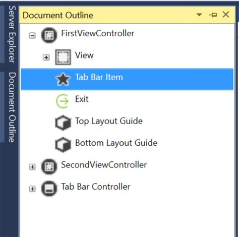 xamarin tab bar tutorial working with tab bar controller xamarin