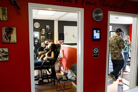 tattoo shops in lansing clean and sober shop ink therapy voted michigan s