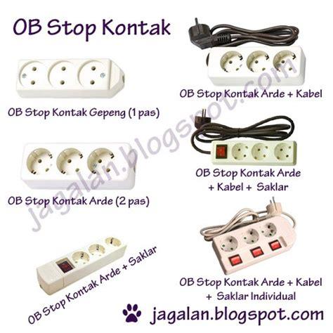 Stop Kontak Ac Komplit Steker Ob alat ob stop kontak jual alat listrik