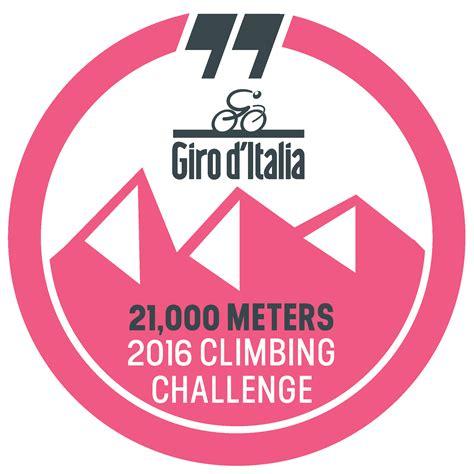 d italia logo giro d italia climbing challenge