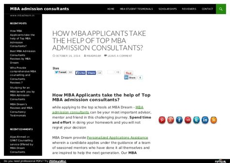 Top Consulting Focused Mba Programs by Top Mba Admission Consultants For Top B Schools Mba