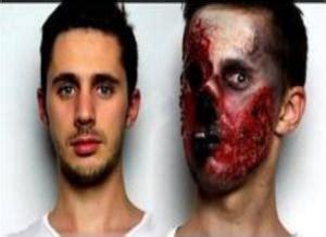 tutorial zombie latex zombie make up