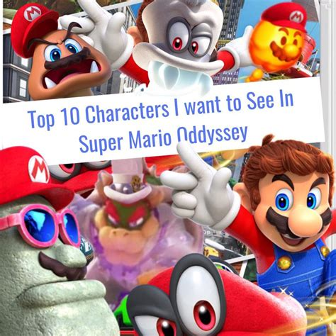 super mario odyssey standard top five characters i want to see in super mario odyssey mario amino